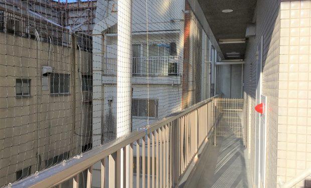 防鳥ネット・フェンス新設工事